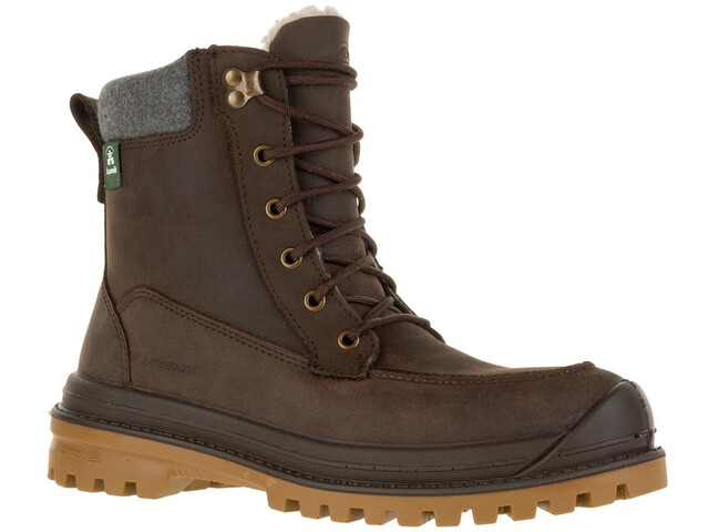 Kamik Griffon2 Shoes Herren dark brown-brun fonce